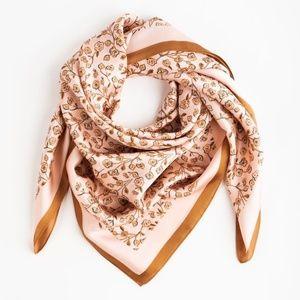 Causebox Cleobella silky scarf in rose